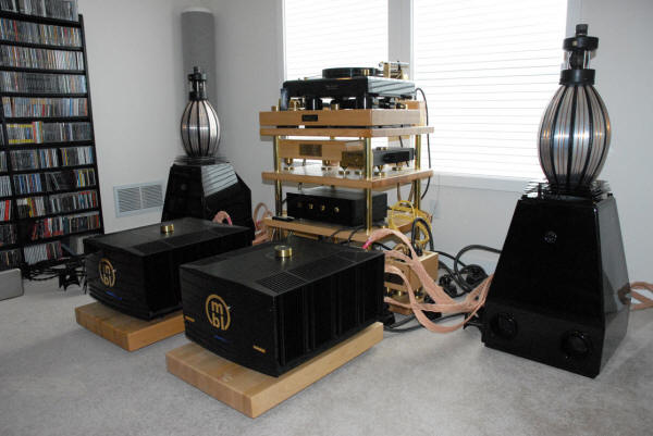 Mbl Amps Speakers on Ma Audio Amps
