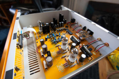 Line Magnetic Audio LM-502CA Vacuum Tube DAC - Positive Feedback