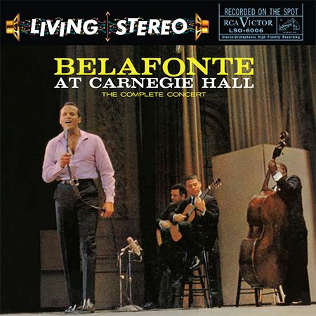 Belafonte At Carnegie Hall The Complete Concert In 3