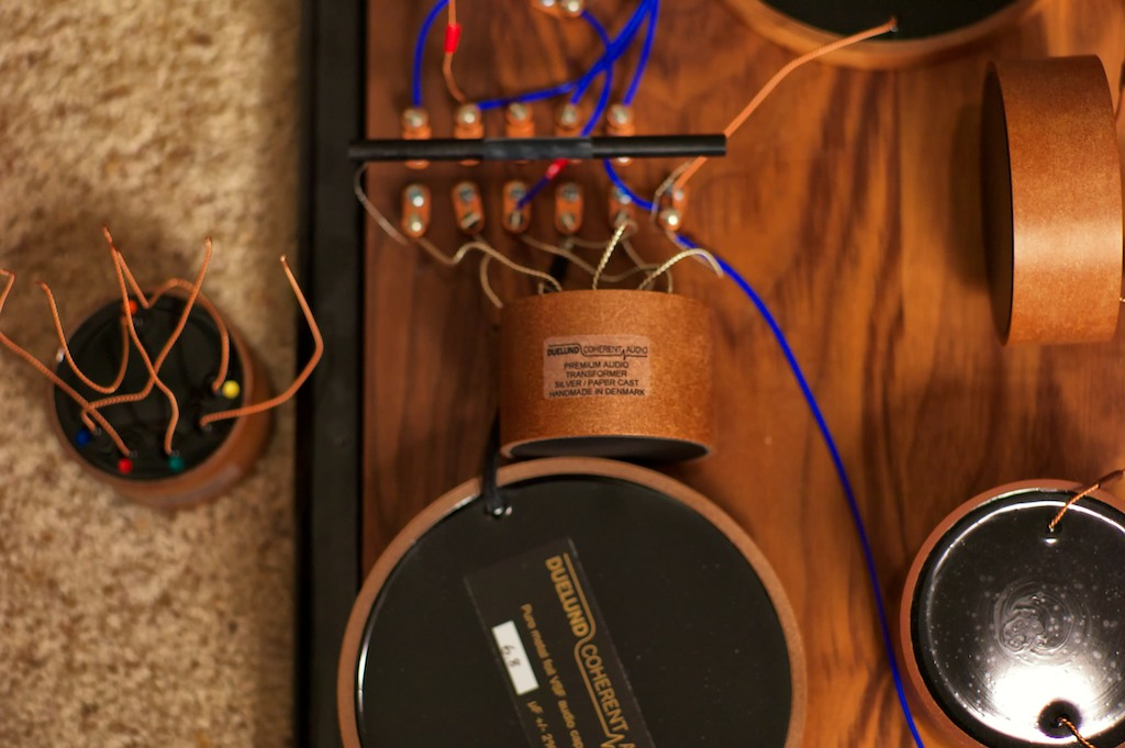 Duelund Cast Silver Autotransformers For Tannoy Prestige