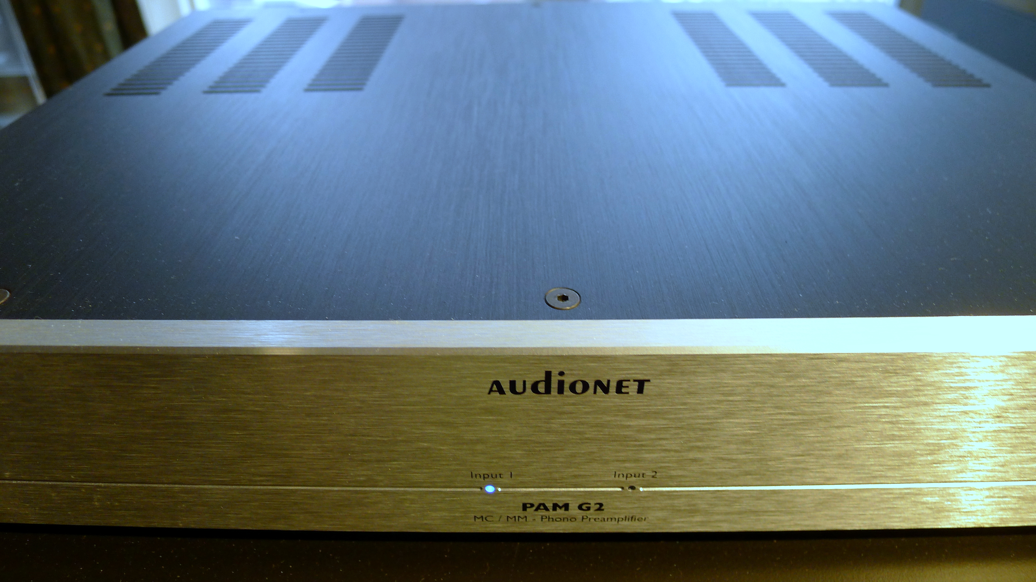 Audionet Pam G2 Phono Preamplifier Youd Think It Was Tubes Input From Moving Coil Head Front1