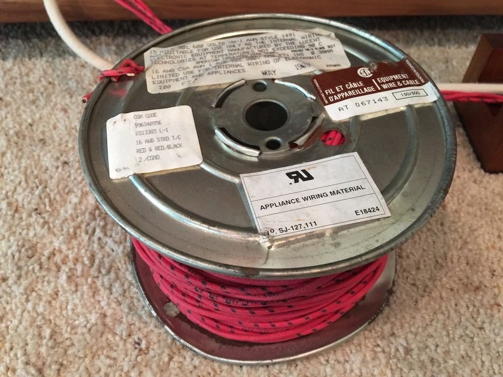 37 WE16GA spool
