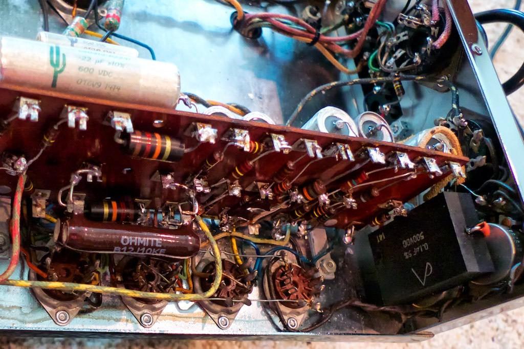 48 capacitor adventure
