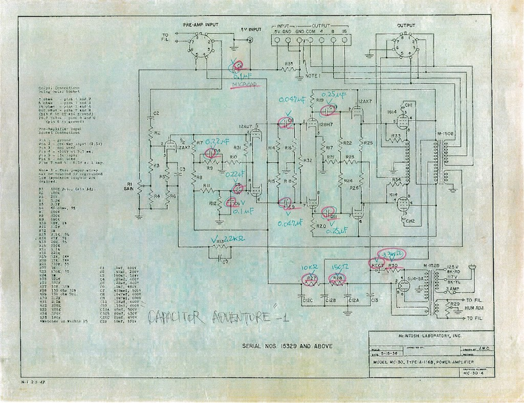 Adventures In Real Sound With Mr Shirokazu Yazaki Positive Feedback Mc 44 Multi Function Microphone Schematic Wiring Diagram 40 Mc30 Cap Adv 1