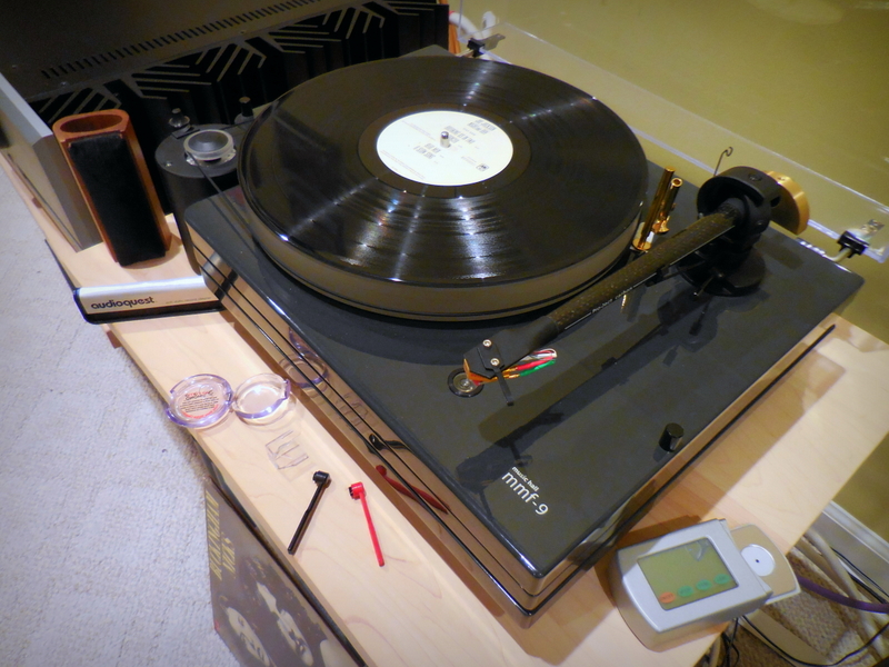 Modified MMF-9 Turntable