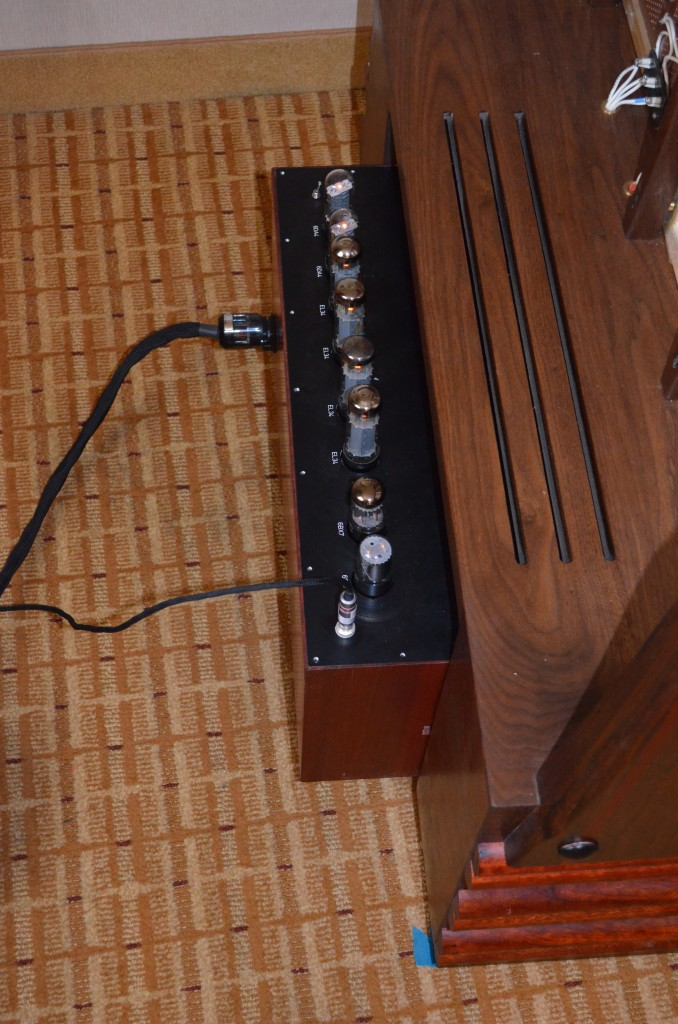 CUSTOM BUILT EL-34 AMP FOR THE ESL 57