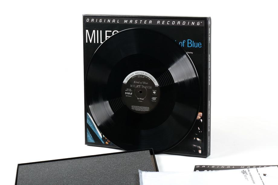 Miles Davis Kind Of Blue 45rpm 180g 2lp Box Set