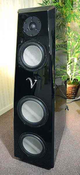 Close up of the Von Schweikert Audio VR-55 Aktive