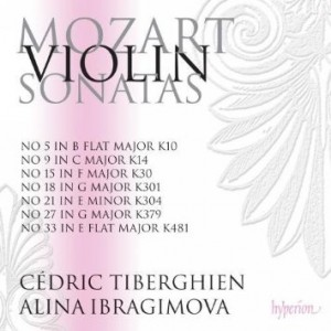 Ibragimova Mozart CD's
