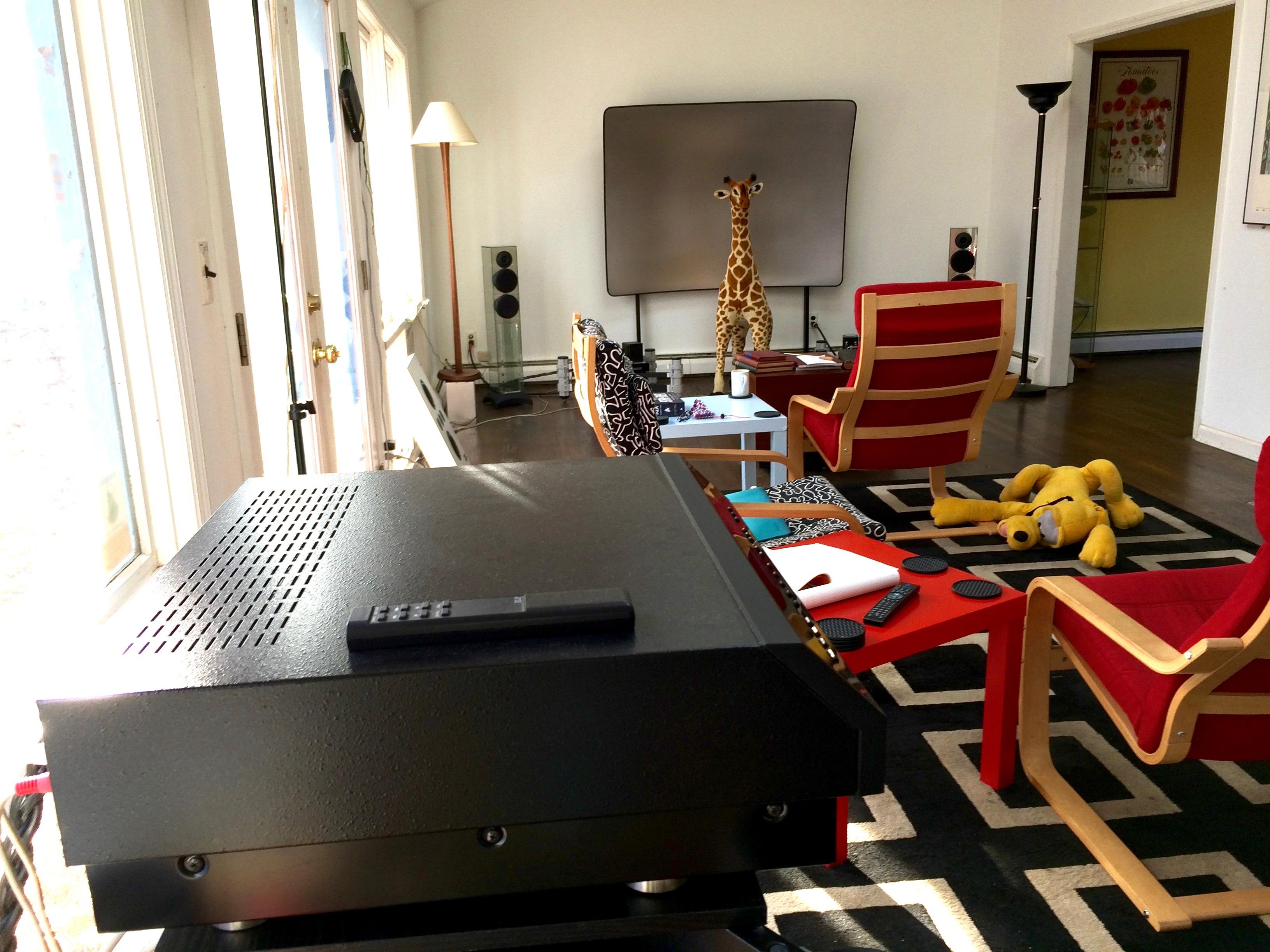 Long View of Kipnis Studios Delta Cinema & From the Kipnis Studios (KSS): Waterfall Audio \u2013 Glass Loudspeakers ...
