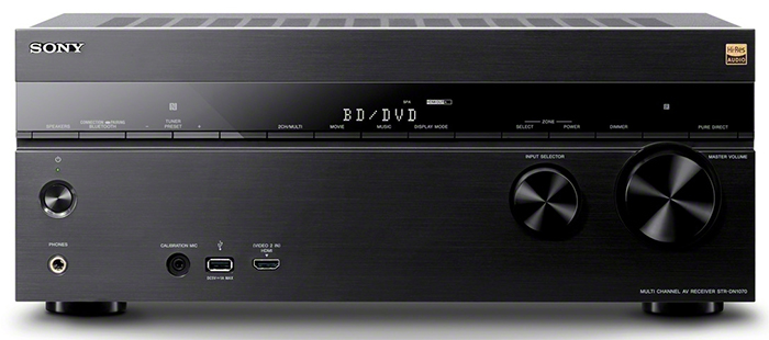 Sony STR-DN1070 AV Receiver with Multichannel DSD 5.6 MHz