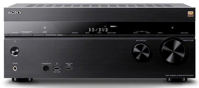Sony STR-DN1070 AV Receiver with Multichannel DSD 5.6 MHz