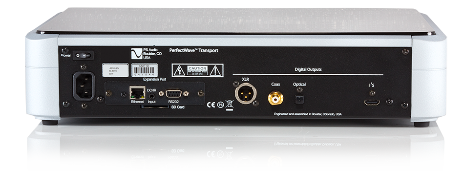 PS Audio PerfectWave Memory CD/DVD Player and DirectStream DAC