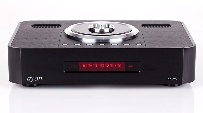 Ayon Scorpio Integrated and CD-07s Compact Disc Player