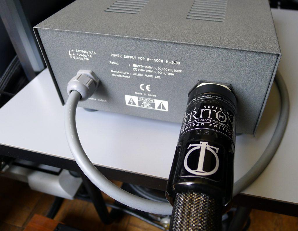 Stage III Triton Power Cord