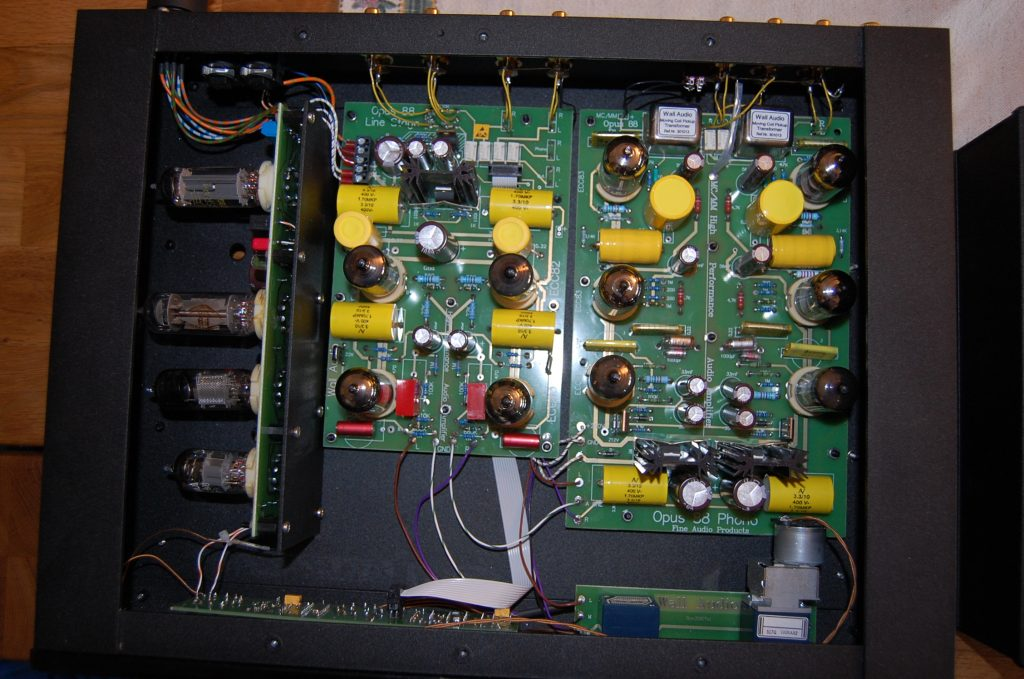 Wall Audio Opus 88 Stereo Preamplifier