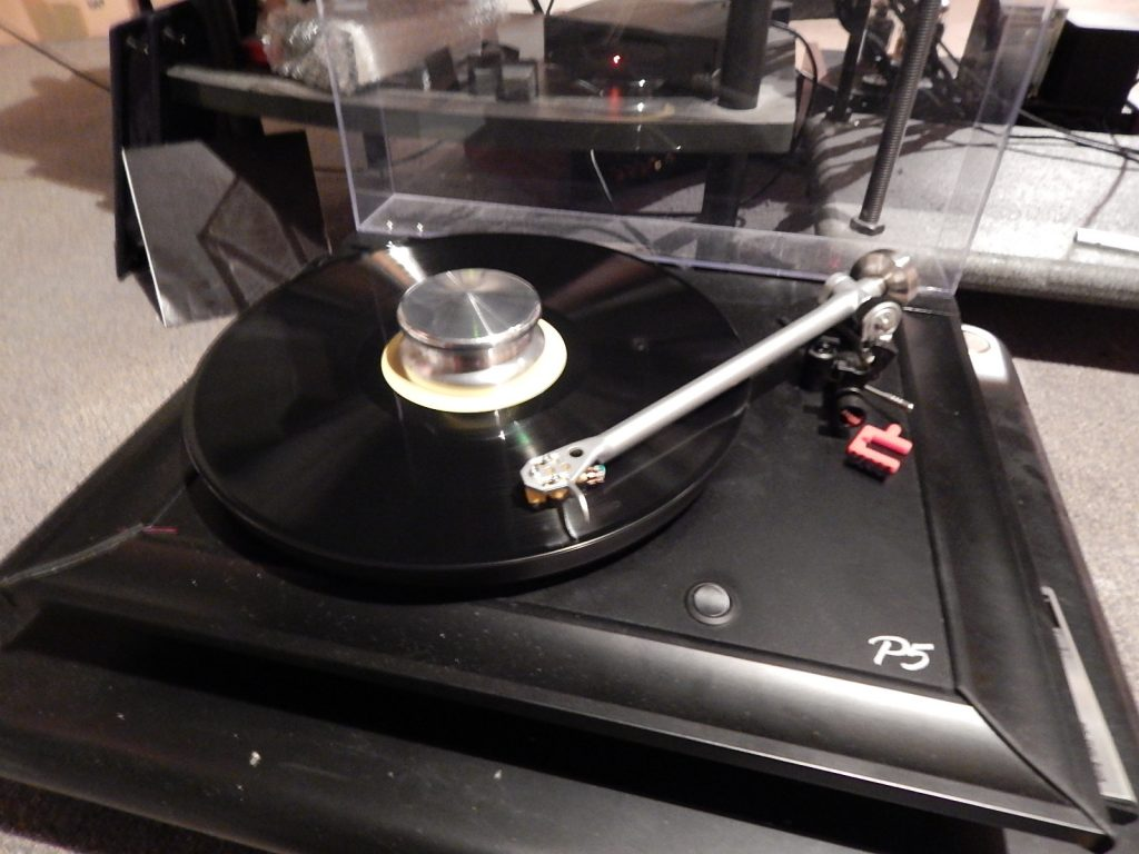 The Rega with the TT Weights