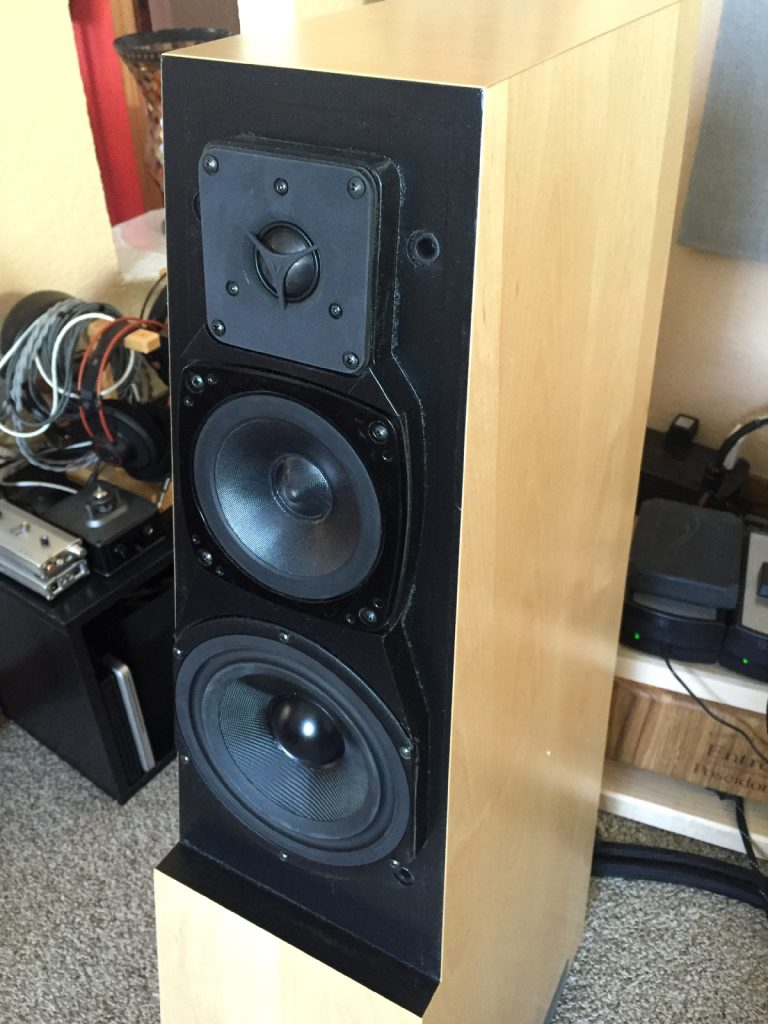 Vandersteen Audio Quatro Wood CT Loudspeakers