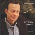 Ilya Itin Debussy Preludes I cover