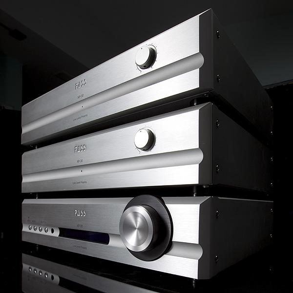 Pass Labs X350.8 Stereo Amplifier and XP-30 Preamplifier