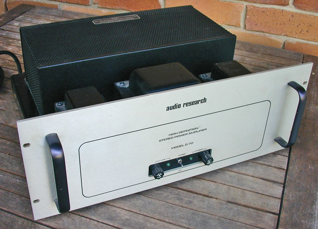 Audio Research D-70 Amplifier Final