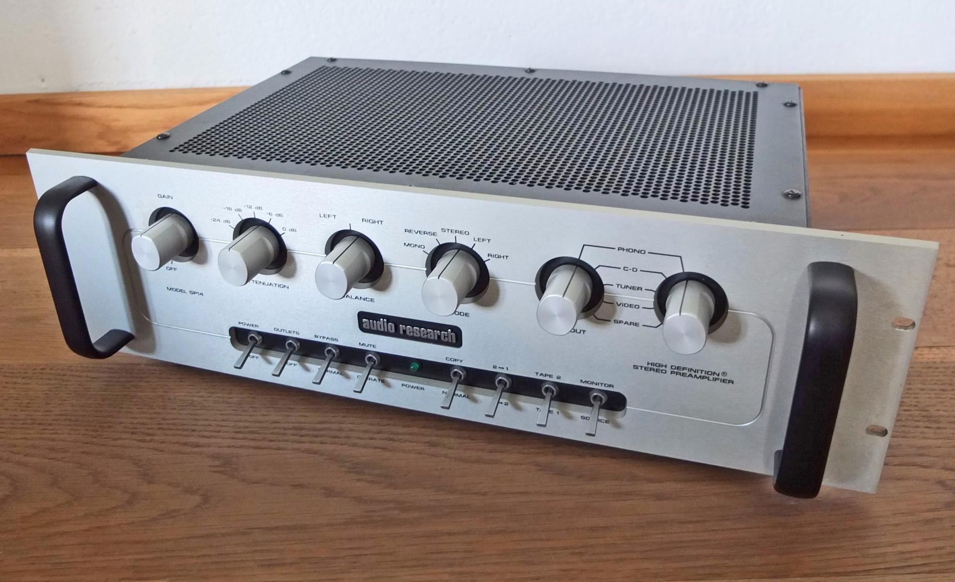 Audio Research SP-14 Preamplifier Final
