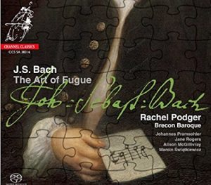Notes of an Amateur: Podger's Bach Art of Fugue; Ibragimova's Mozart Violin Sonatas, Vol. 2; Wallfisch's Telemann Violin Concertos, Vol 6; Jennifer Koh's plays the Tchaikovsky.
