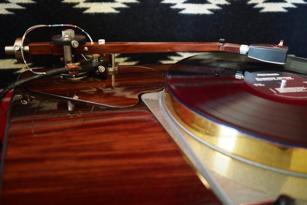 12.5-inch Woody SPU Tonearm.