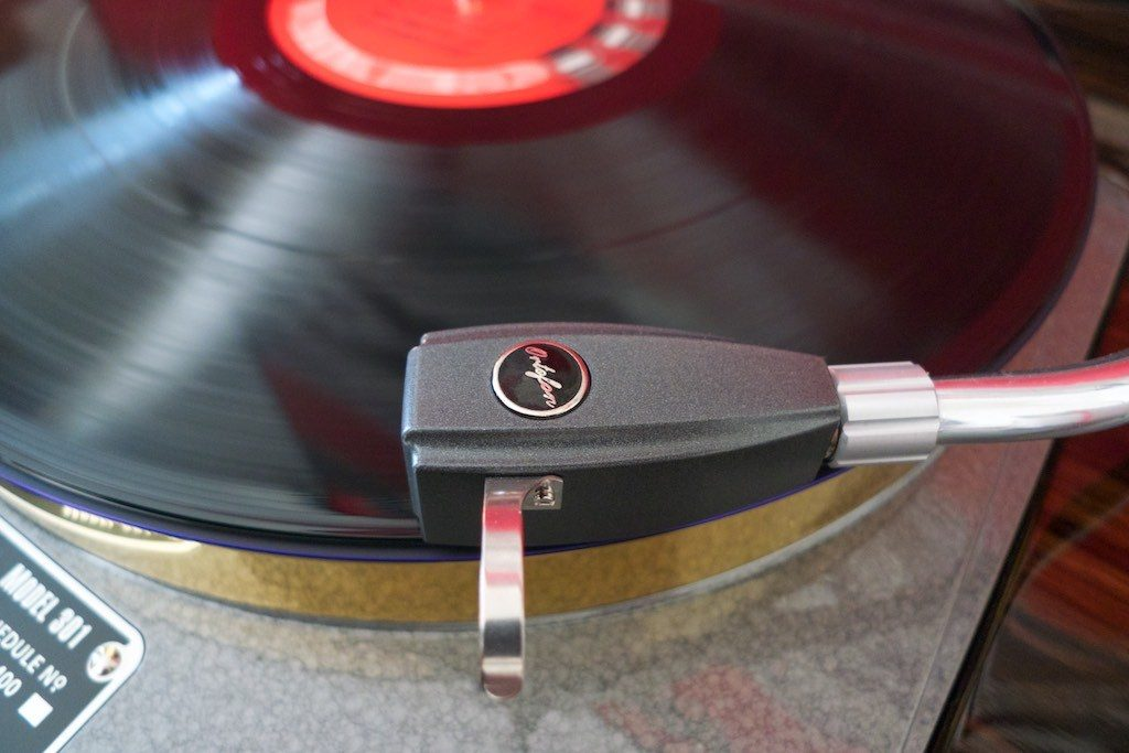 Ortofon SPU Mono CG 25 Di MKII on Schick tonearm.