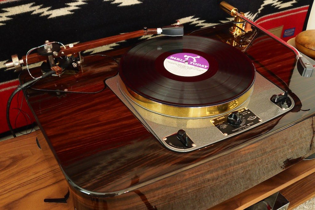 The Woody SPU Tonearm on the GP2015.