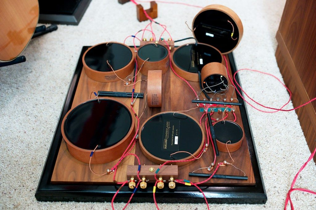 The Duelund Coherent Audio CAST crossover for the WRSE loudspeakers.