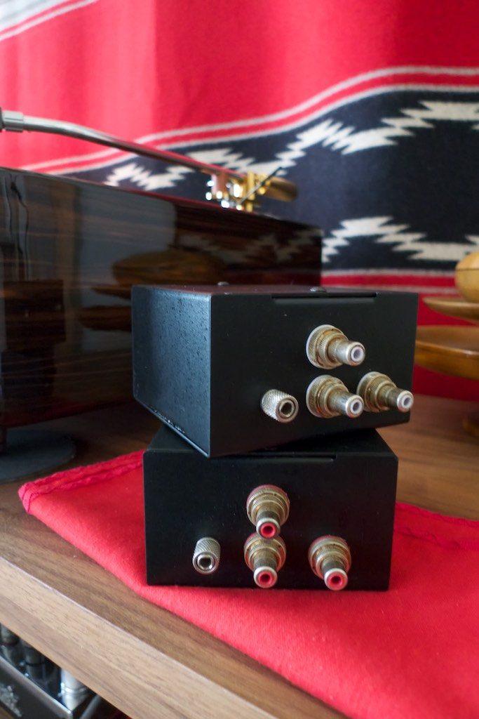 Intact Audio dual mono step-up transformers for my Ortofon SPU Classic.