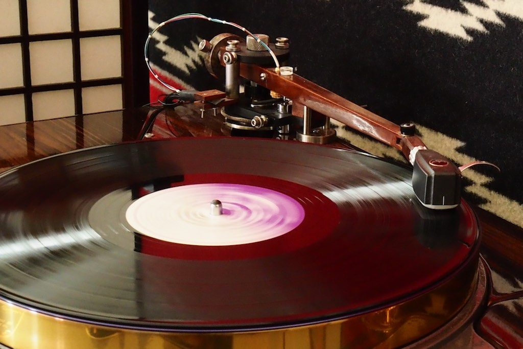 The 12.5-inch Woody SPU Tonearm by Pete Riggle Audio Engineering.