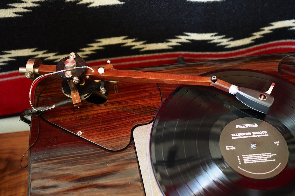The 12.5-inch Woody SPU Tonearm top view.