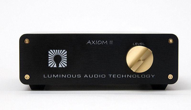 Luminous Audio Technology Axiom II with Walker Modifications Passive Preamplifier