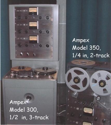 Ampex 300 + 350