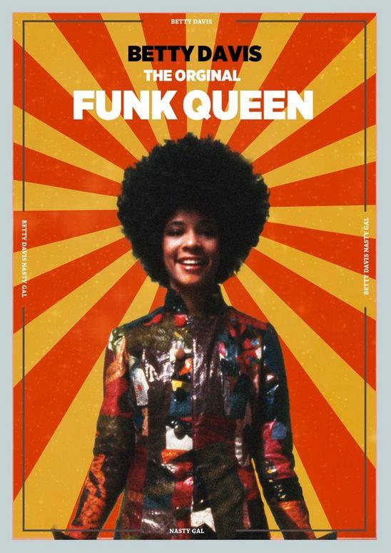 Betty (Mabry) Davis - Funk Queen