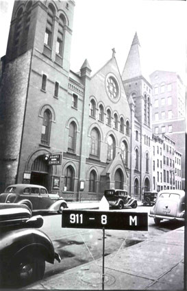 Columbia 30th street Studio C - The Church - before