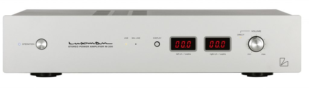 The Neoteric Listener - The Luxman M-200 Stereo Amplifier and DA-250 USB D/A Converter