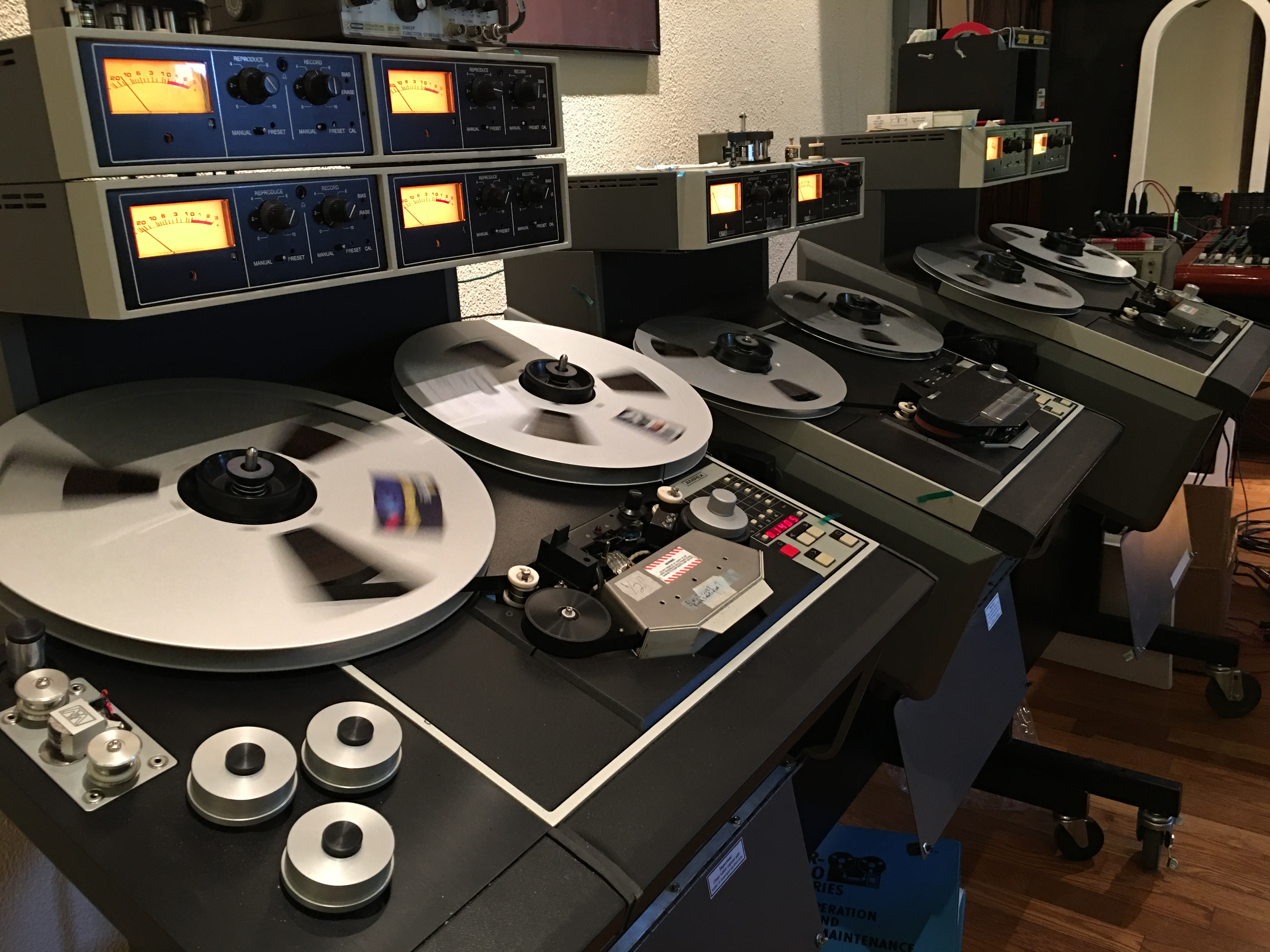 acoustic sounds reel-to-reel tape