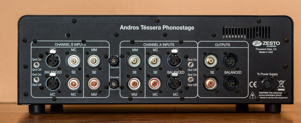 Zesto Audio Andros Téssera phono stage