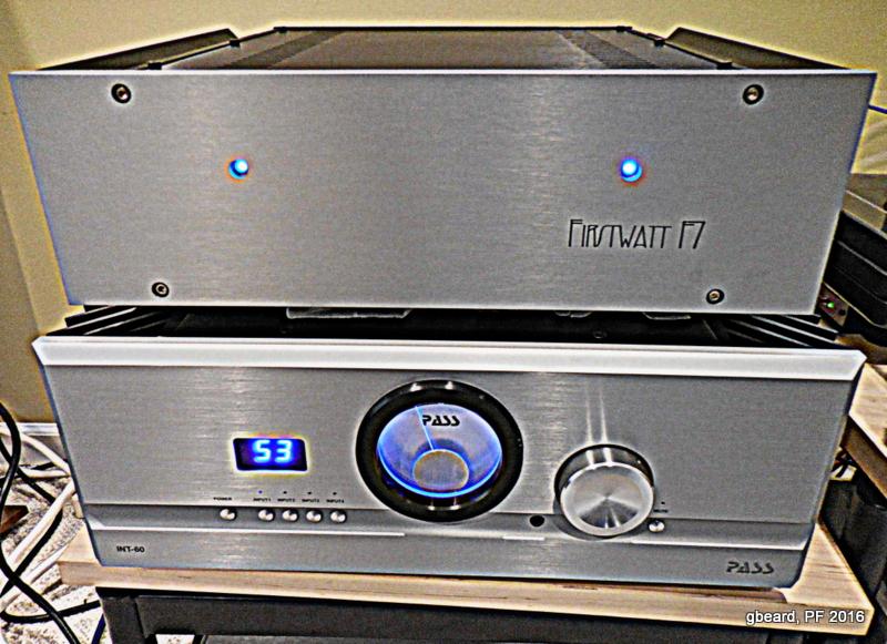 First Watt F7 Power Amplifier