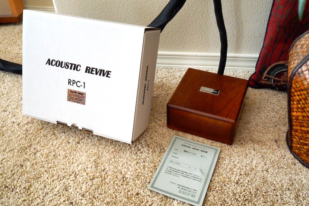 Acoustic Revive RPC-1 Power Supply Conditioner