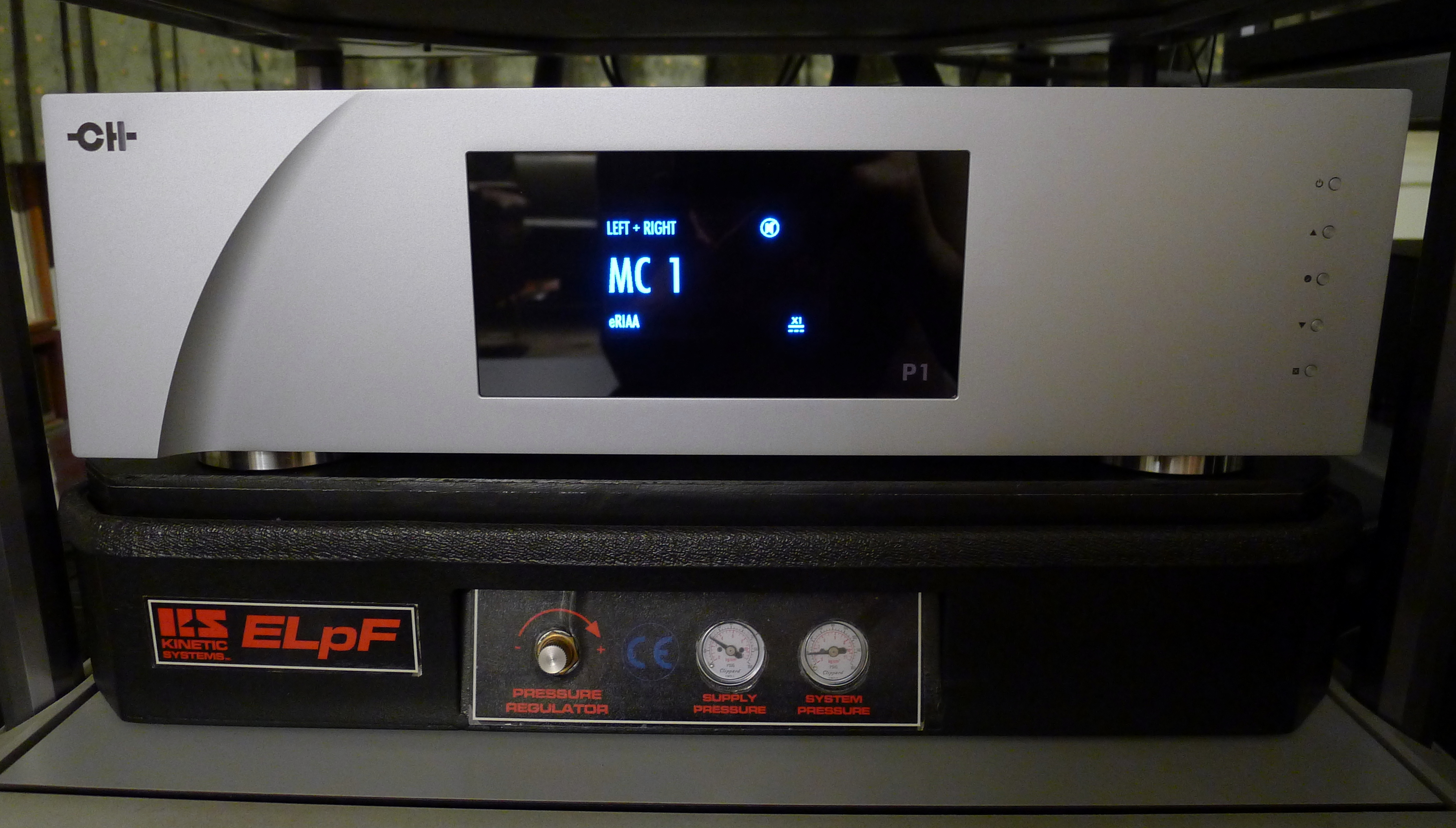 CH Precision P1 Phono Stage