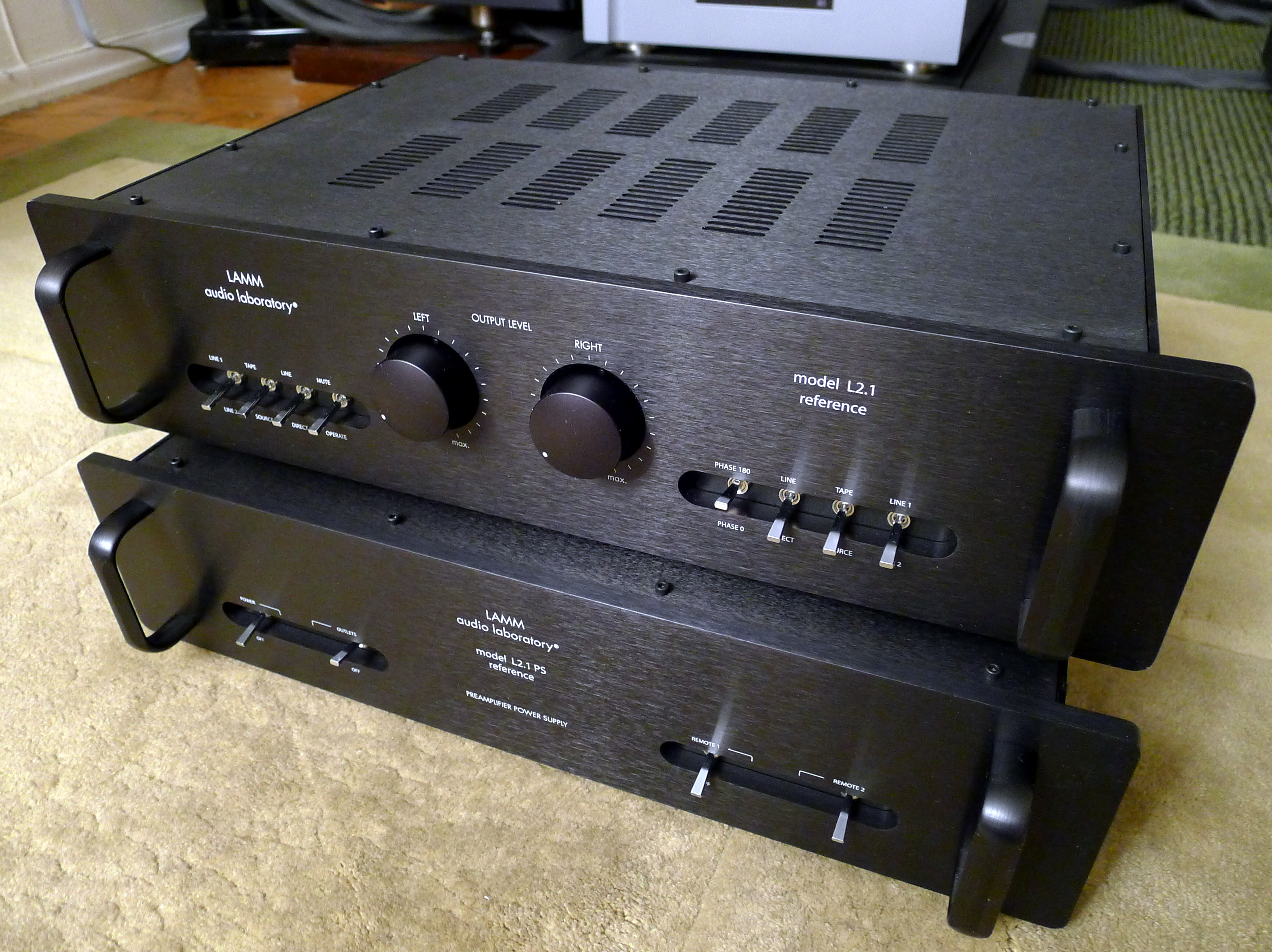 Lamm Industries L2.1 Reference Preamplifier
