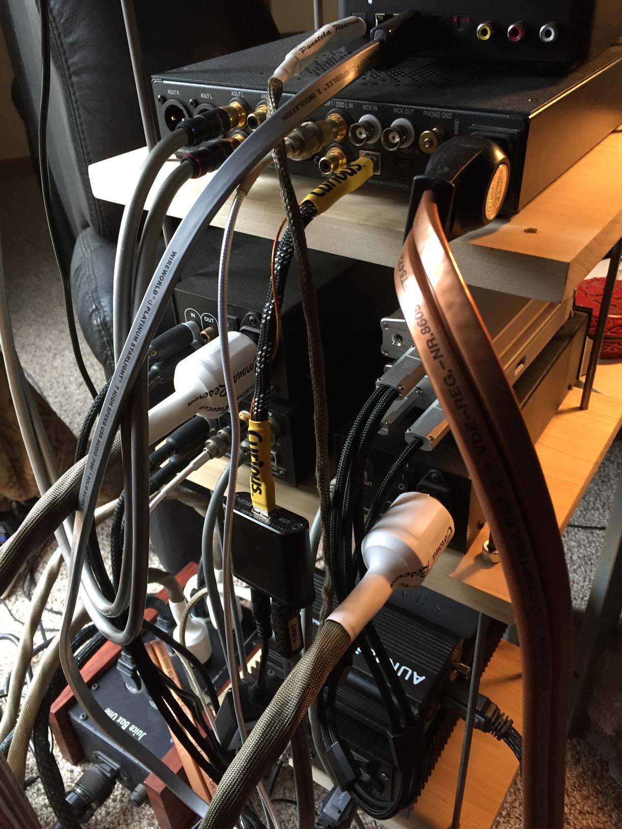 Focal ELEAR, Wireworld, Double Helix, Moon Audio, Schiit Audio