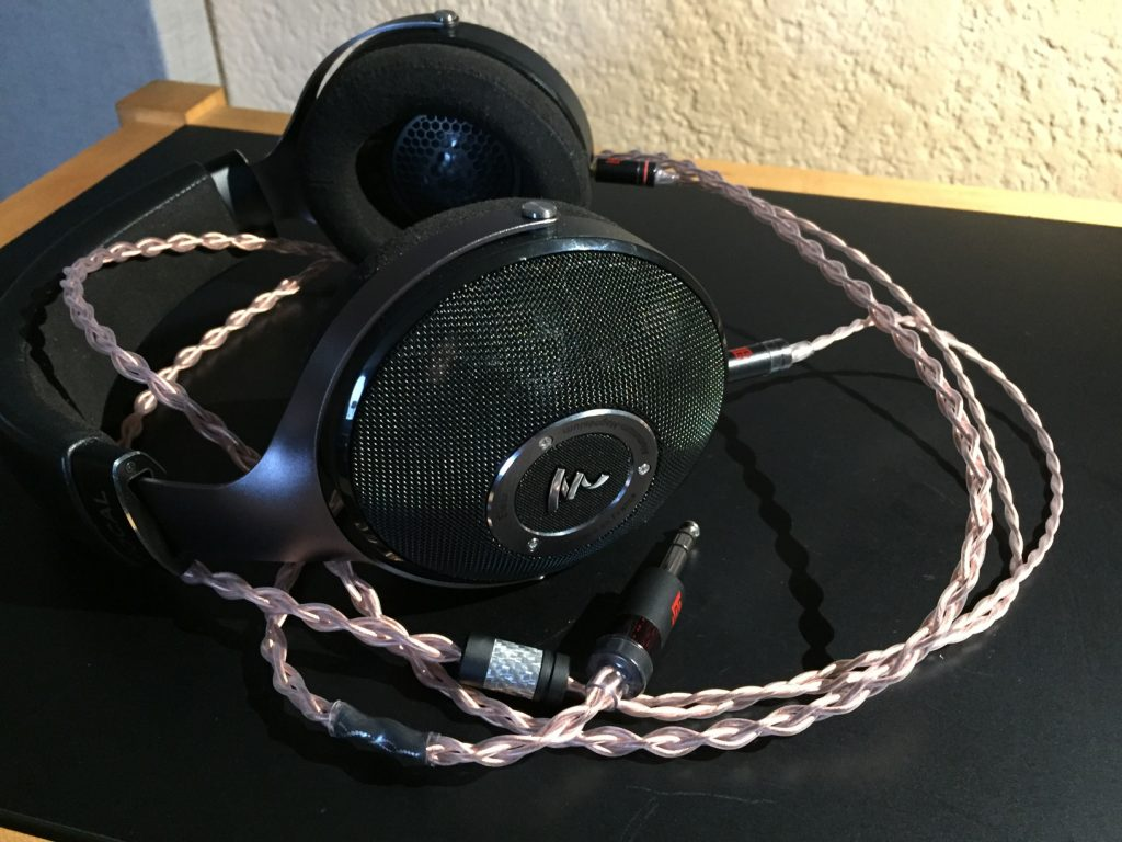 Focal ELEAR Headphones Double Helix cables