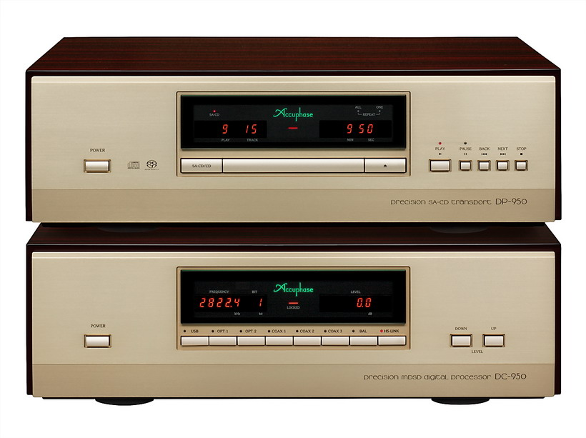 Accuphase DP-950/DC-950 Super Audio CD Player