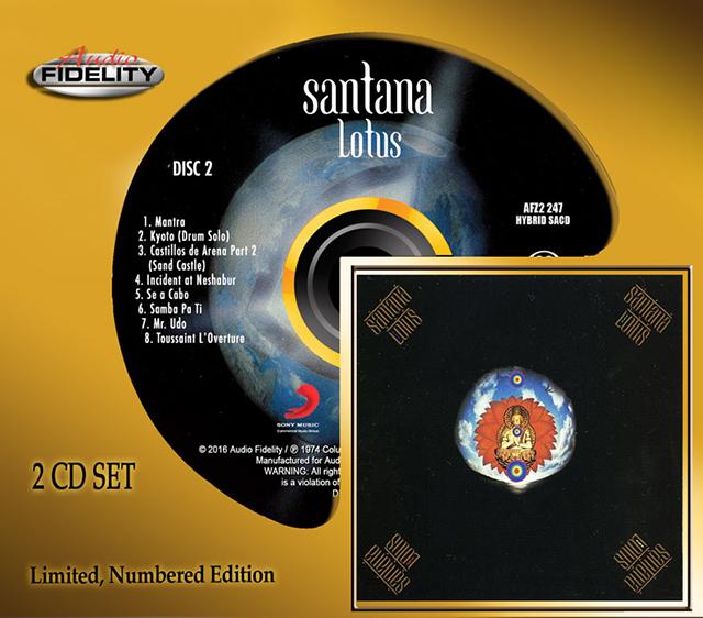Santana Lotus Hybrid Stereo SACD from Audio Fidelity