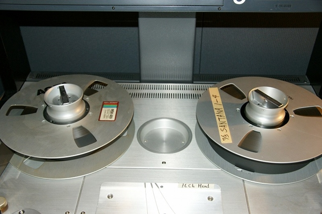 Analog Multitrack Tape of Lotus Concert at Sony Music Japan Studios
